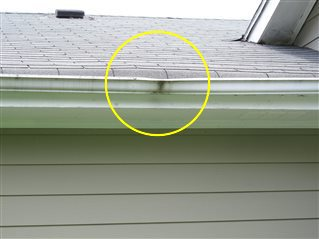 One Or More Gutters Or Downspouts Were Damaged Inspect More